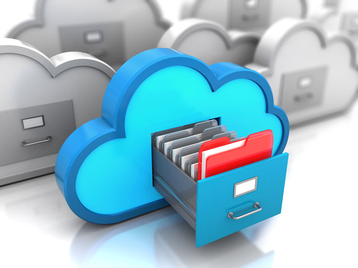 Your documents are stored on the cloud